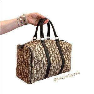 🤎 Dior Diorissimo Trotter Boston Bag 🤎